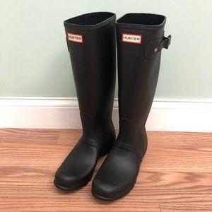 Hunter | Women's Rain Boots | Tall | Matte Black